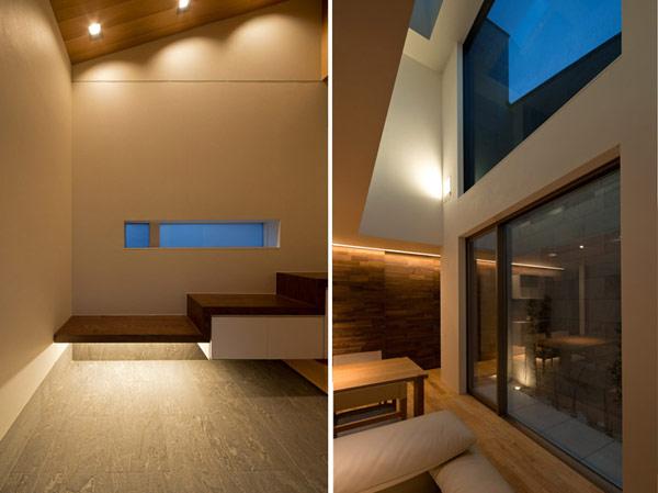 Hogares frescos arquitectura japonesa moderna casa u3 for Arquitectura moderna casas interiores