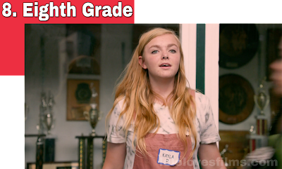 Eighth Grade 2018 A24 Movie Elsie Fisher Bo Burnham