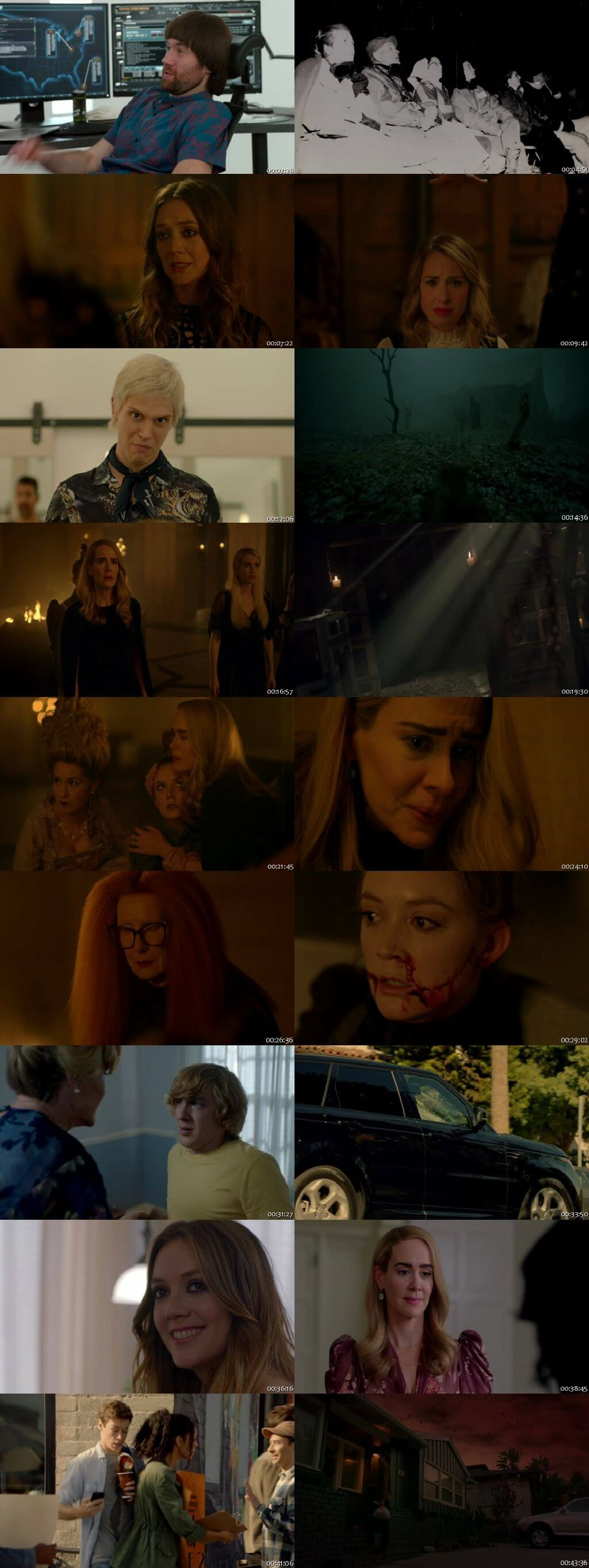Screenshots Of English Show American Horror Story Season 08 Episode 10 2018 WEB-DL 720P 300MB