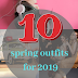 Top 10 Fashion Trends from Spring!