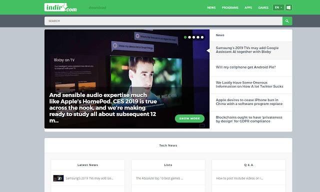 indir.com dünyaya açılıyor