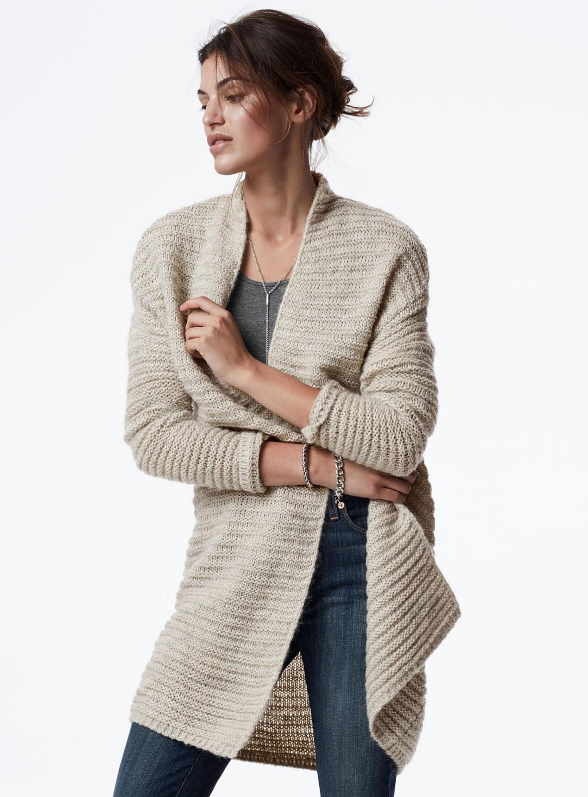 5 nouvelles façons de porter ton maxi cardigan beige