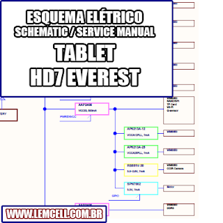 Esquema Elétrico Smartphone Tablet Dl Hd7 Everest Manual de Serviço   Service Manual schematic Diagram Cell Phone Smartphone Celular Tablet Tablet Dl Hd7 Everest      Esquematico Smartphone Celular Tablet Dl Hd7 Everest