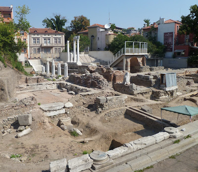 Roman coins found at Plovdiv's Odeon site