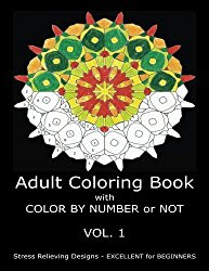 Adult Coloring Book With Color By Number or NOT - 29 August