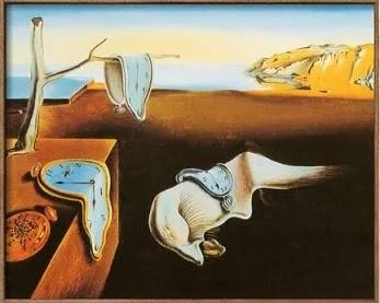 Quadro a persistência da memória de Salvador Dalí