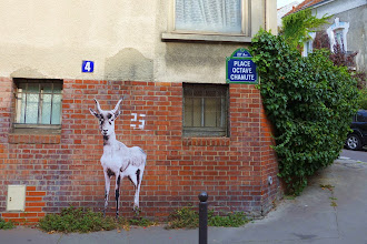 Sunday Street Art : Let's be vingt-cinq - place Octave Chanute - Paris 20