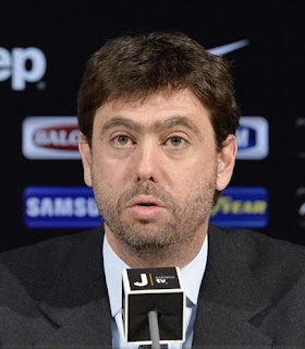 Andrea Agnelli has been chairman of Juventus since succeeding John Elkann in 2010