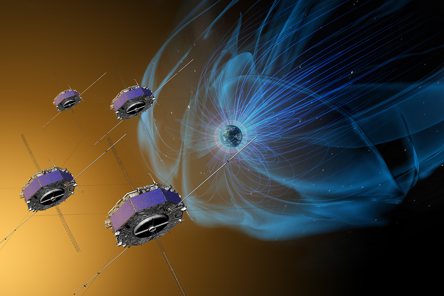 $1 billion Magnetospheric Multiscale Mission directly ...