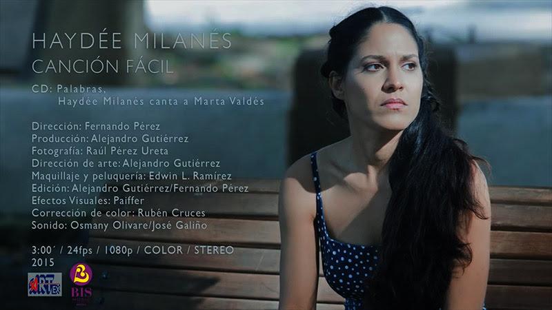 Haydée Milanés - ¨Canción fácil¨ - Videoclip - Dirección: Fernando Pérez. Portal Del Vídeo Clip Cubano