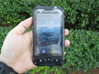Hape Outdoor Landrover A8 Seken Android IP68 Certified Water Dust Shock Proof