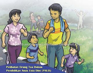 Parenting PAUD, Pendidikan Keluarga PAUD, Pelibatan Ortu di PAUD, PAUD dan Pendidikan Keluarga