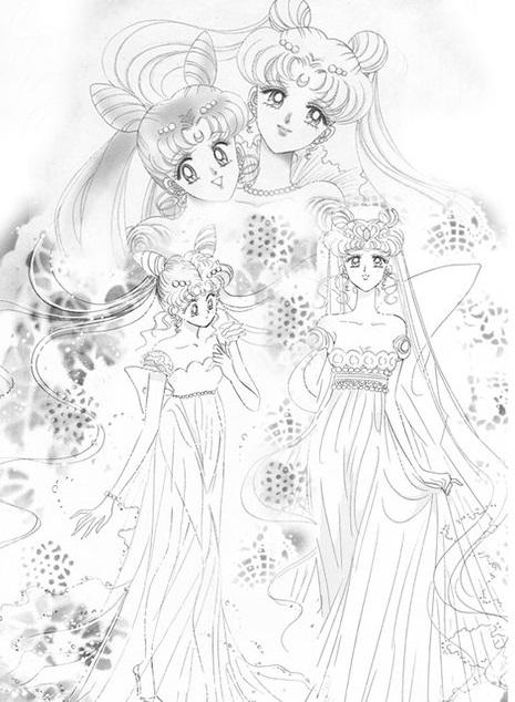 Todo De Sailor Moon Biografia De Rini Tsukino Sailor