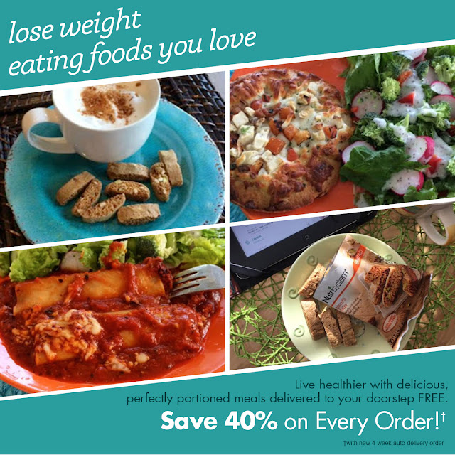 Nutrisystem 40% off every order