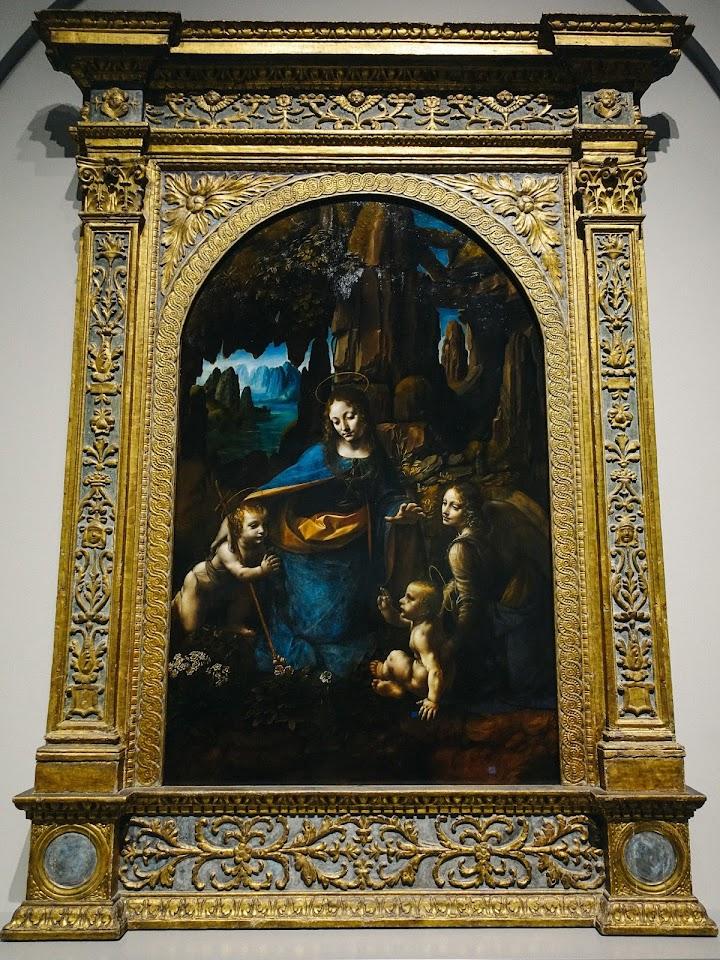 岩窟の聖母(The Virgin of the Rocks)1491/2〜9および1506〜8年頃