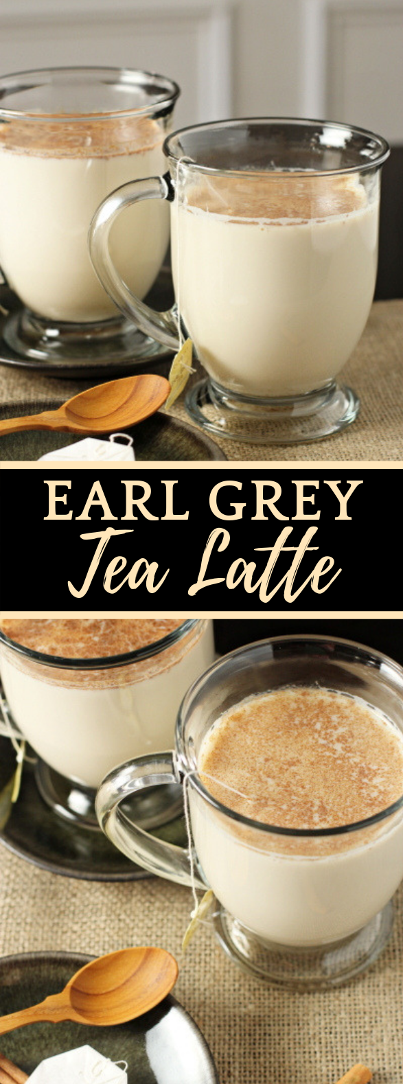 EARL GREY TEA LATTE #drink #coffee