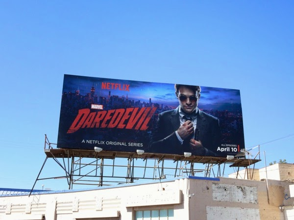 Daredevil series premiere billboard