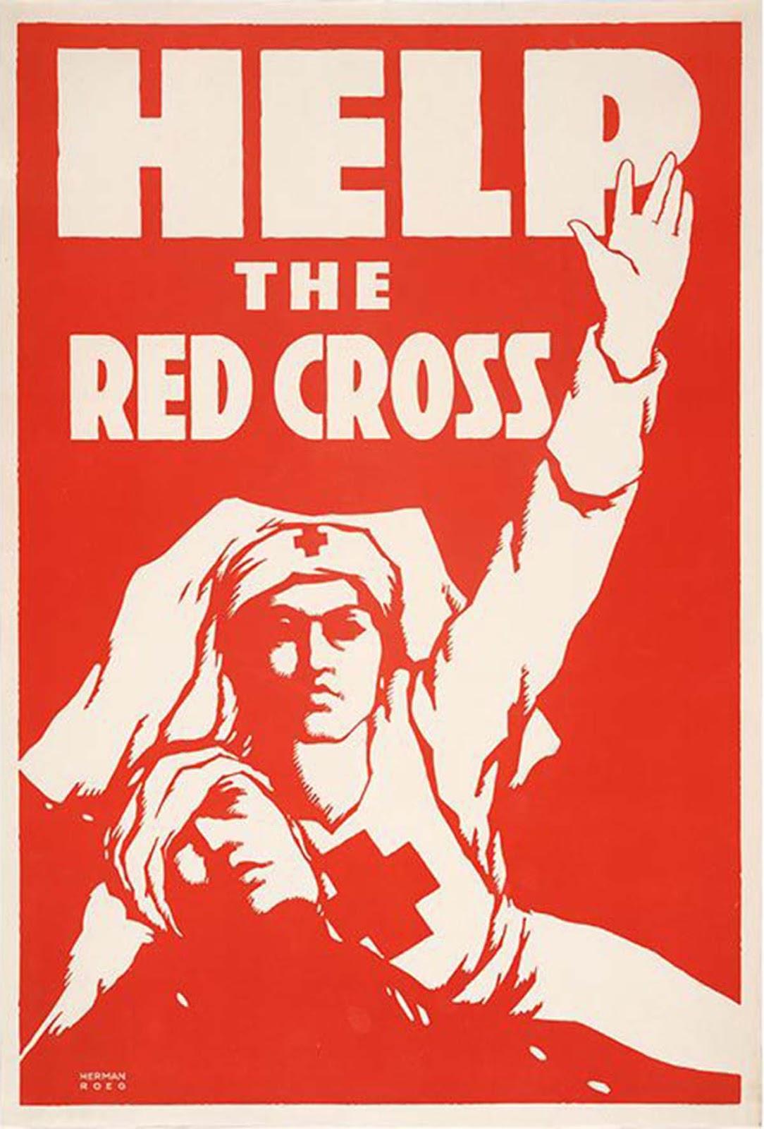 Help the Red Cross, ca. 1917, Herman Roeg.