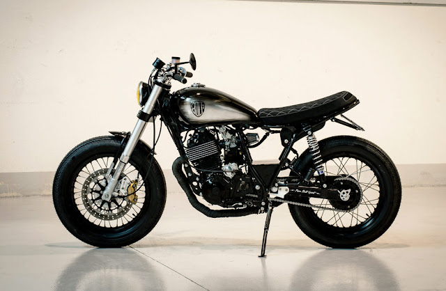Yamaha XT600 By Bolt Motor Co. Hell Kustom