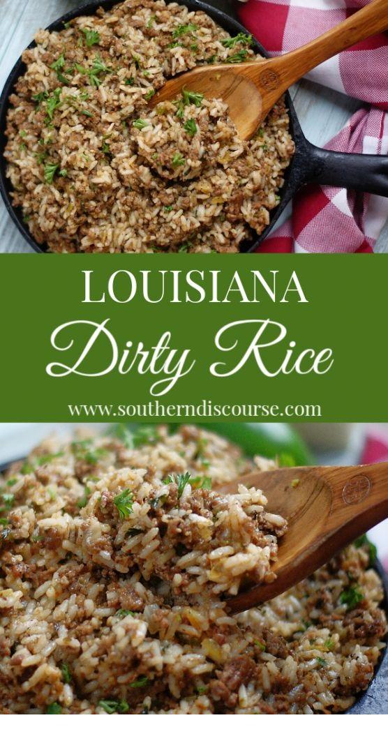 Louisiana Dirty Rice