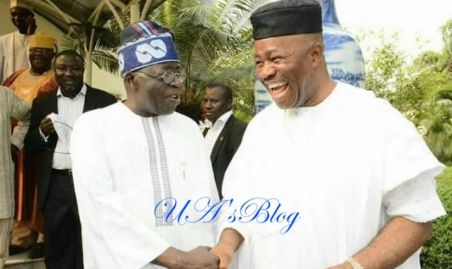 Breaking: Akpabio Visits Tinubu, To Be Formally Received Into APC By Osinbajo