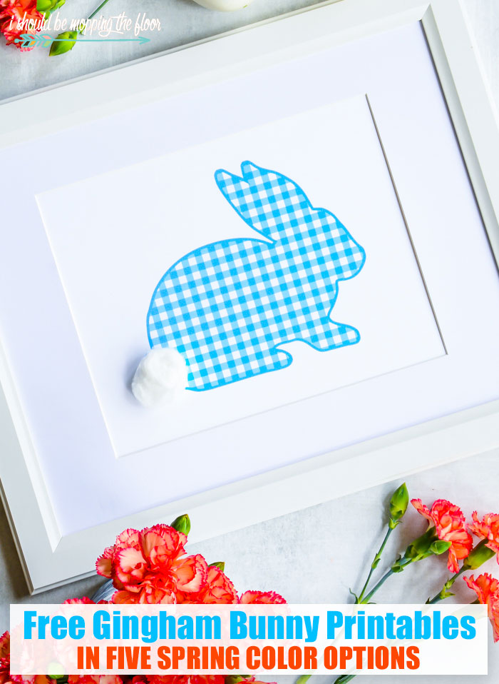 photograph regarding Bunny Outline Printable named Gingham Bunny Define Printables i need to be mopping the ground
