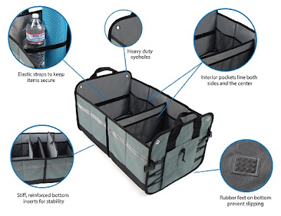 Ultimate Heavy Duty Premium Trunk Organizer benefits