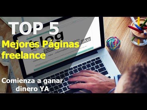 TOP 5 MEJORES PLATAFORMAS PARA TRABAJAR DESDE CASA | FREELANCE