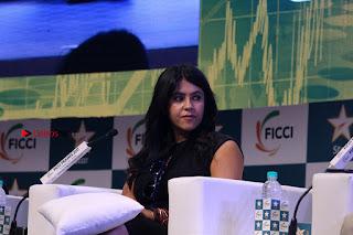Ekta Kapoor Anurag Kashyap & Ramesh SippyAt at FICCI FRAMES 2017  0110.JPG