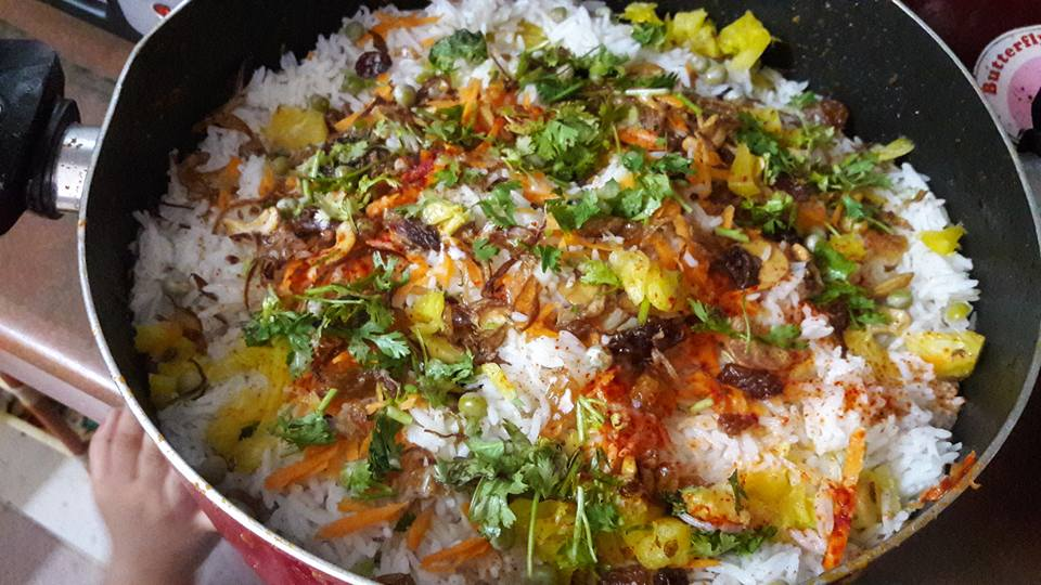 Malabar Chicken Biriyani Recipe