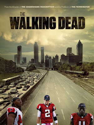 #nfl #falcons.- From the director of the shawshank redemption and the producer of the terminator. the walkin dead