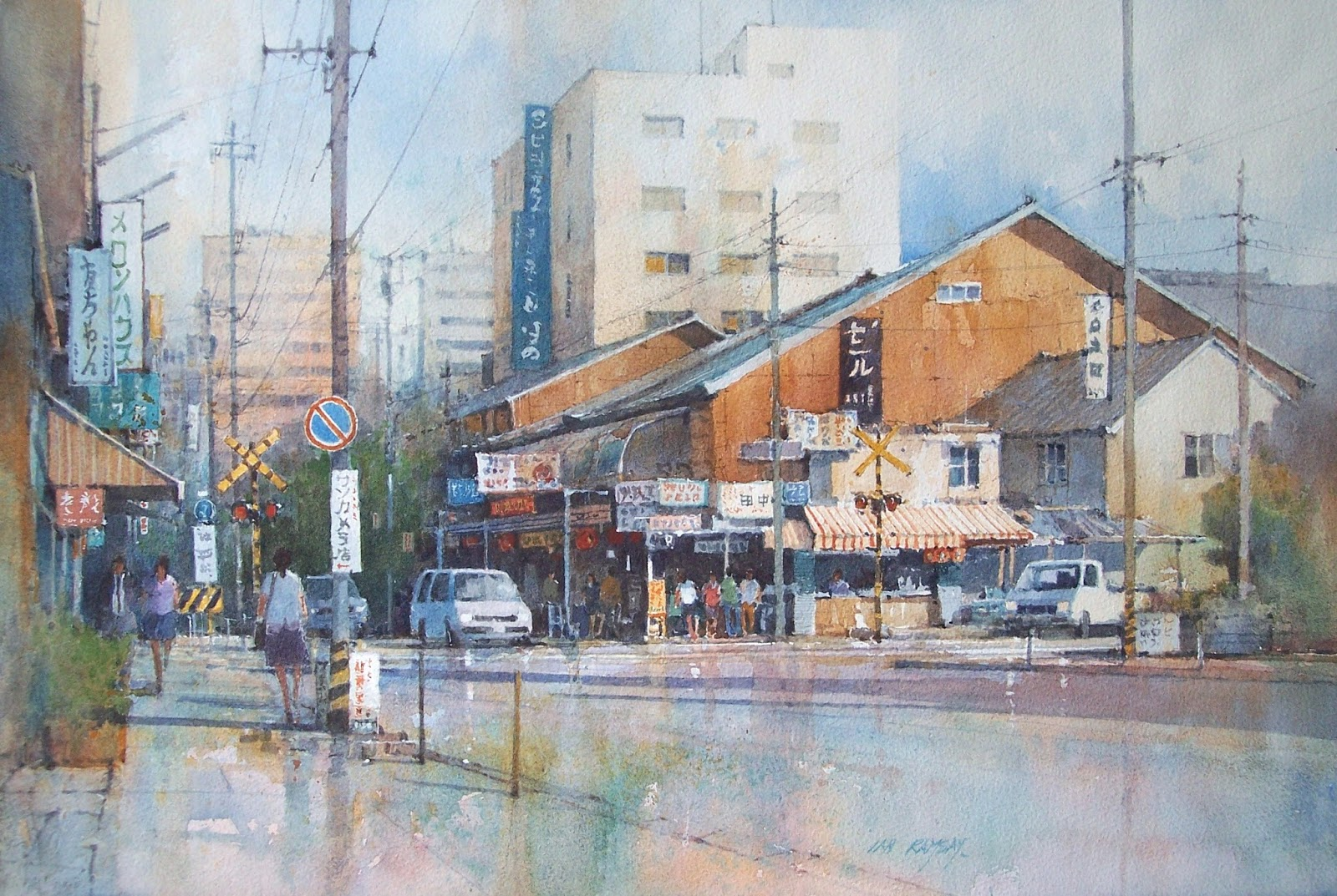 Ian Ramsay Watercolors: Here is a summer update of some of my recent paintings... contact ...