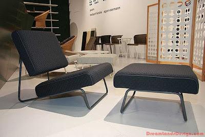 Lounge chair by Herbert Hirche