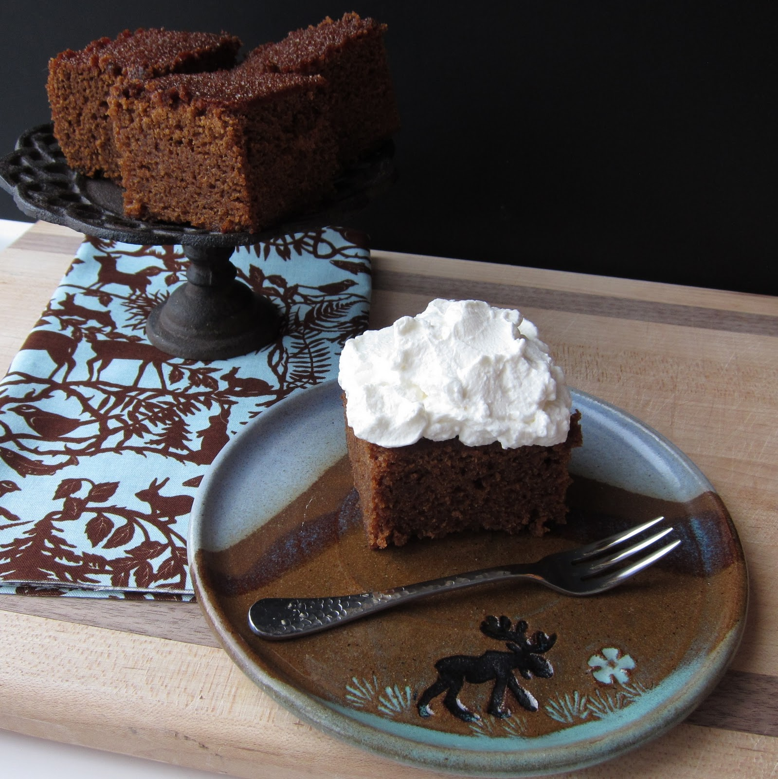 Sticky Gingerbread Cake Recipe