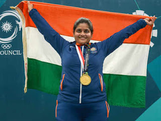 Rahi Sarnobat becomes first Indian woman to win gold medal