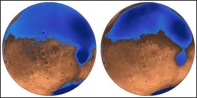 mars oceans formed early possibly aided by massive volcanic eruptions