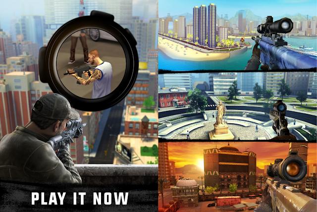 Sniper 3d Assassin Mod Apk Unlimited Money