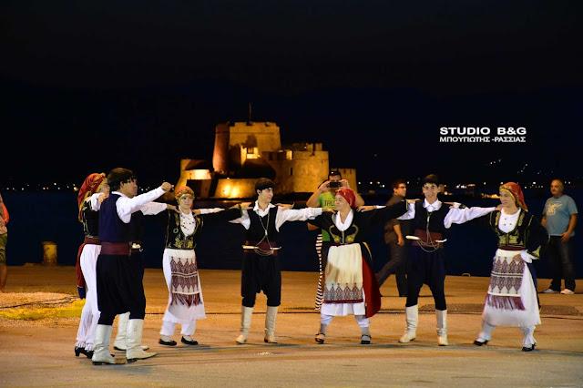 """Αντάμωμα Κρητών στο Ναύπλιο για το φεστιβάλ """"Δρόμοι Πολιτισμού Αργολίδας"""" (βίντεο)"""