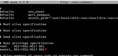 Cara Konfigurasi SSH dan Sudoers di Debian 9 5