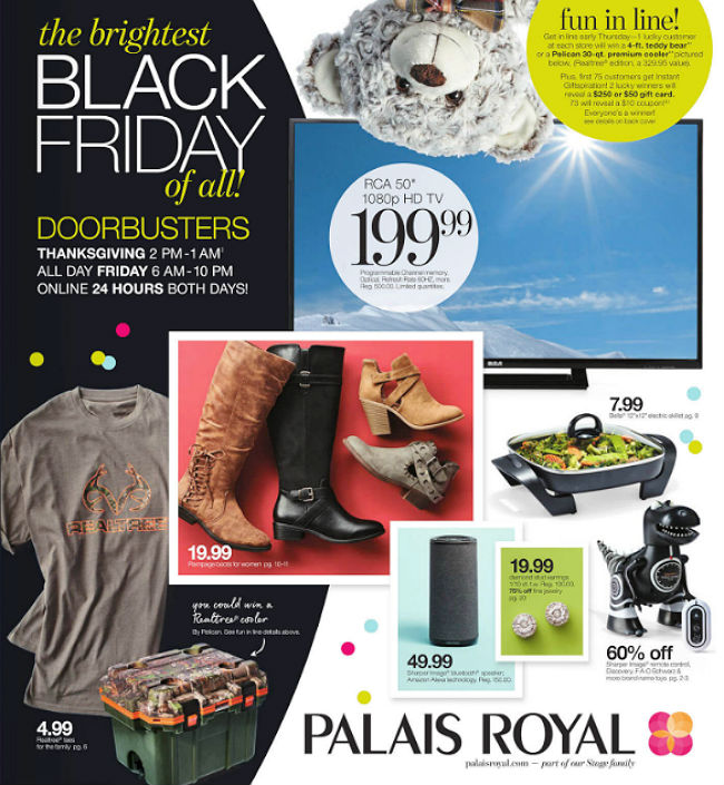 Palais Royal Black Friday 2017 Ad