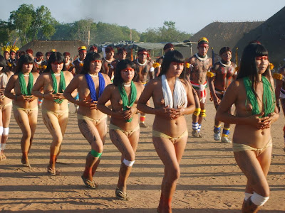 nude female tribe