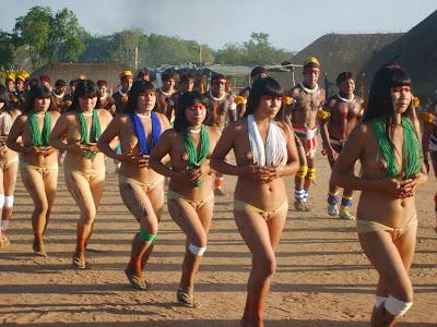 xingu tribe girls nude