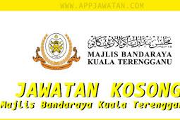 Jawatan Kosong di Majlis Bandaraya Kuala Terengganu (MBKT) - Pentadbiran & Pengurusan - 1 Oktober  2018