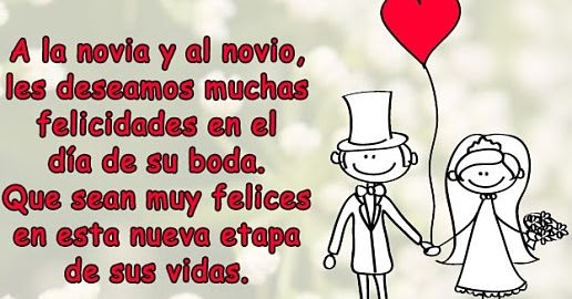 40 Frases Felicitaciones De Boda Originales