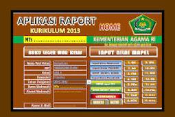 Aplikasi Raport Kurikulum 2013 Dan KTSP Untuk SD SMP SMA Versi Terbaru