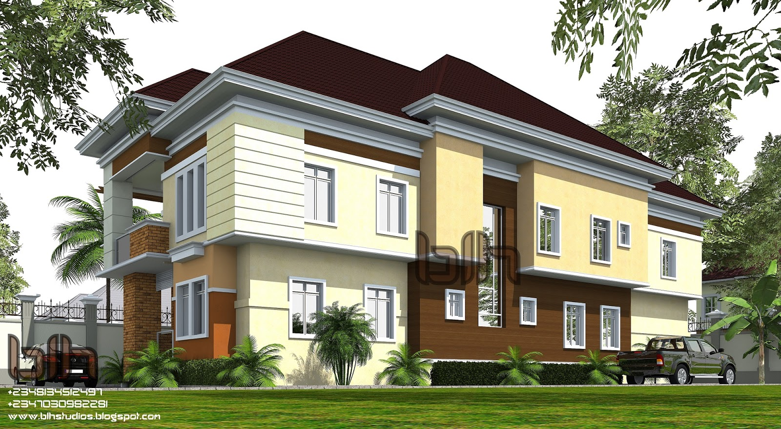 Architectural designs by blacklakehouse 5 bedroom duplex for Duplex bed