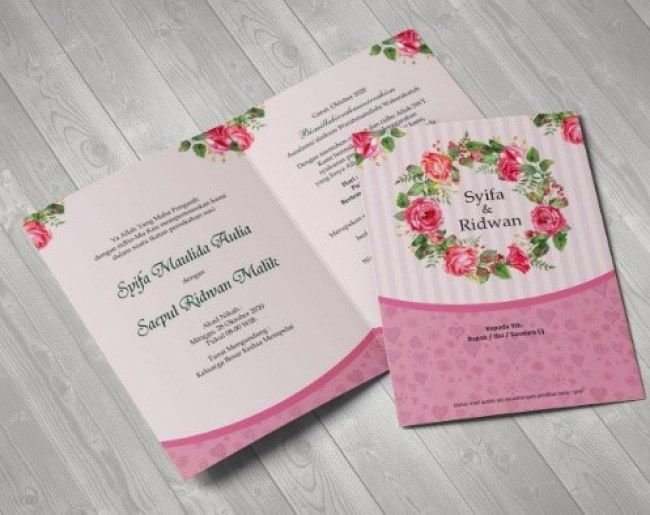 10 Contoh Undangan Pernikahan yang Bisa Jadi Referensimu ...