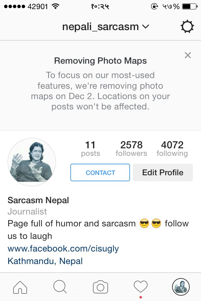 Trending Nepal Instagram going to kill its Photo Map feature