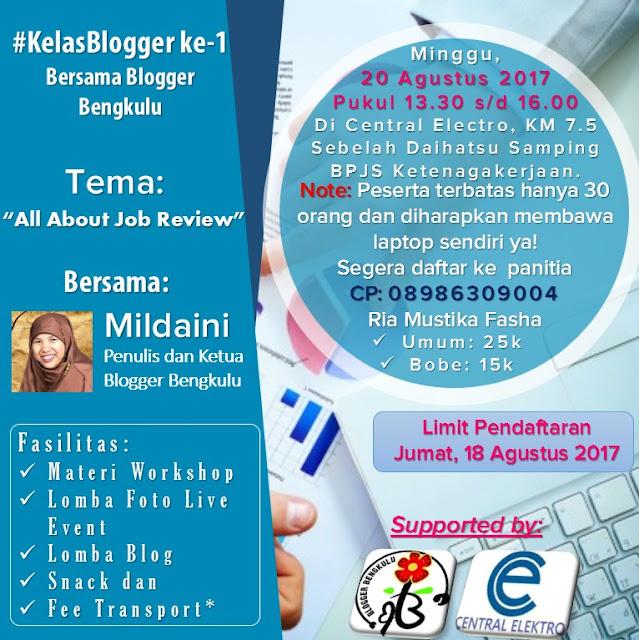 Kelas Blogger, Kelas Blogger Bengkulu, Kelas Blogger Pertama Bersama Blogger Bengkulu, Kelas Blogger pertama ini adalah agenda rutin minggu ke tiga disetiap bulan