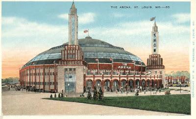 St. Louis Arena photo circa 1940's or 1950's
